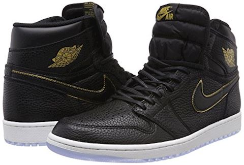 Nike Air Jordan 1 Retro High OG Shoe - Black Image 5